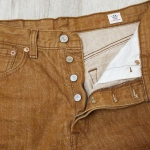 Levi's Jeans - LEVI'S white oak cone denim